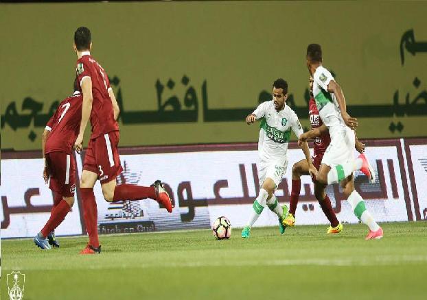 بالفيديو:الأهلي يقصي الفيصلي بثلاثية ويتأهل إلى نهائي كأس الملك