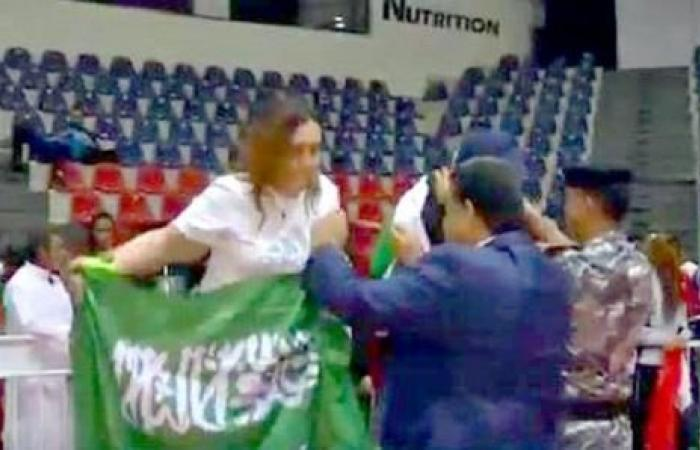 فتاة سعودية تخطف (3) ميداليات بالبطولة العربية