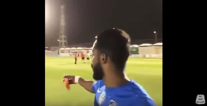 بالفيديو..نواف العابد يطقطق على ياسر القحطاني بعد فوز ارسنال على تشيلسي