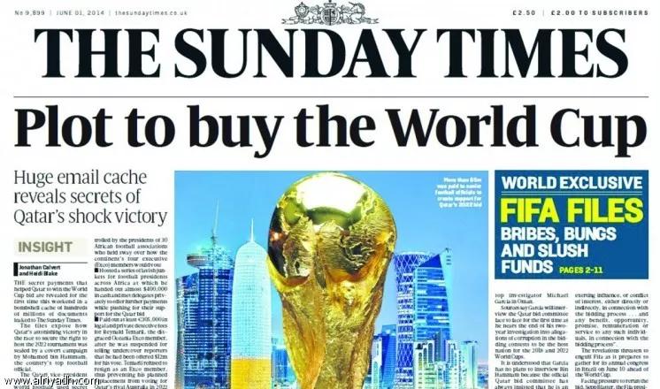 قطر وكأس العالم 2022.. فساد فتَّت إمبراطورية الكرة