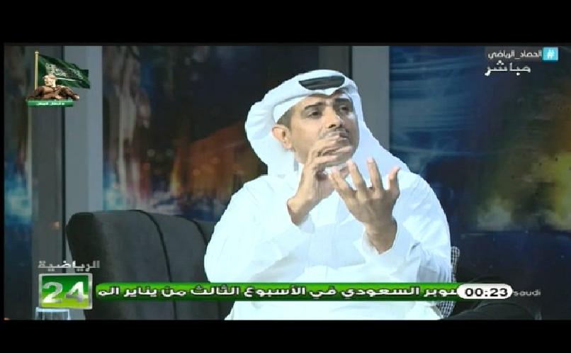 بالفيديو..صالح المطلق لـ فهد الهريفي : اعطنى ماذا يفيد نادي النصر ، او انضم الينا في اللجنة الفنية بالنادي