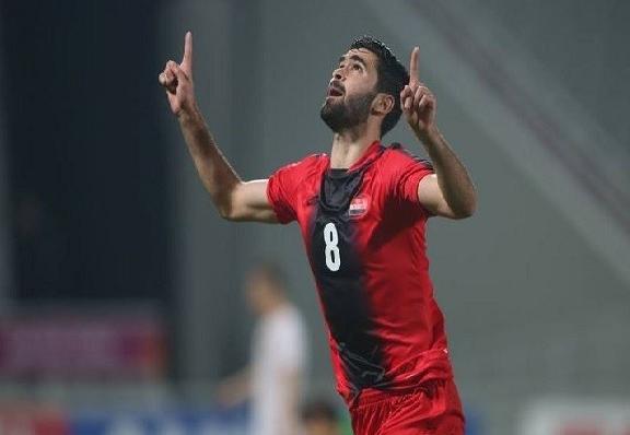 خريبين يغيب رسميا عن مباراة سوريا مع الصين