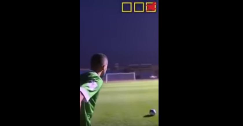 بالفيديو..ياسر المسيليم يتحدى محمد البريك وحسن معاذ في تحدي العارضة