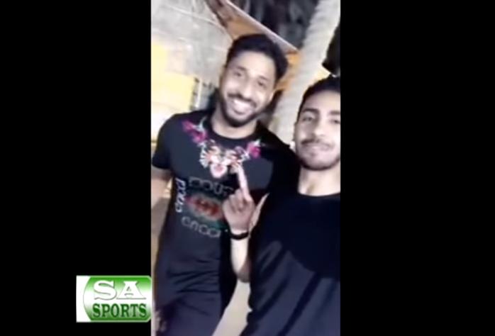 بالفيديو.. ياسر المسيليم يعزم حسين المقهوي