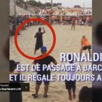 بالفيديو..رونالدينيو يُبهر العالم بسحره مجددًا