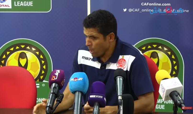 بالفيديو.. مدرب الوداد: جيبور قدم موسمًا رائعًا.. وأتمنى له النجاح مع النصر