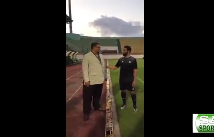 بالفيديو.. الأمير فيصل بن تركي يتواجد في معسكر النصر في مصر