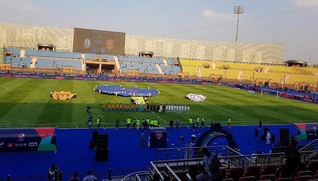 بالصور.. خطأ في افتتاح البطولة العربية يُثير سخرية المتابعين!