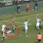 بالفيديو.. حكم بالدوري الأرجنتيني ينقذ لاعباً من الموت