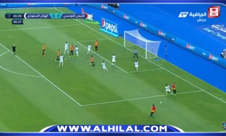 """بالفيديو .. أولمبي الهلال يخسر مباراته الأولى في """"العربية"""" أمام الترجي"""