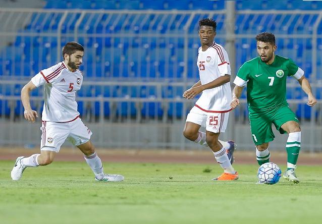 الأخضر الأولمبي يتعادل مع الإمارات