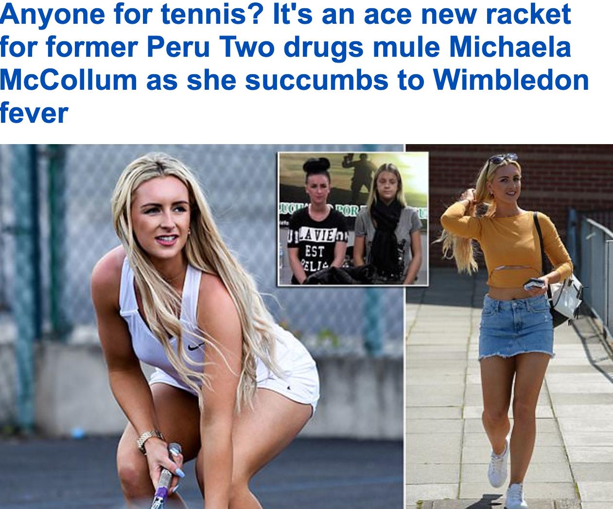 شاهد: البريطانية الشهيرة من أسوار السجن لعالم النجومية..هل تعرفها؟ الكاميرات تطاردها في ملاعب التنس