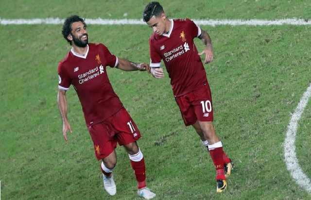 بالفيديو.. محمد صلاح يسجل هدفا عالميا مع ليفربول أمام هيرتا برلين