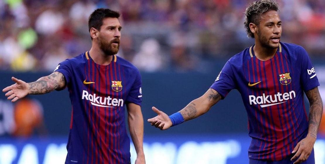 """ميسي يطلب من برشلونة التعاقد مع هذا اللاعب لخلافة نيمار """"صورة"""""""