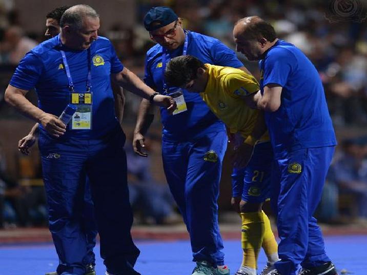 النصر يكشف طبيعة إصابة لاعبه الجديد