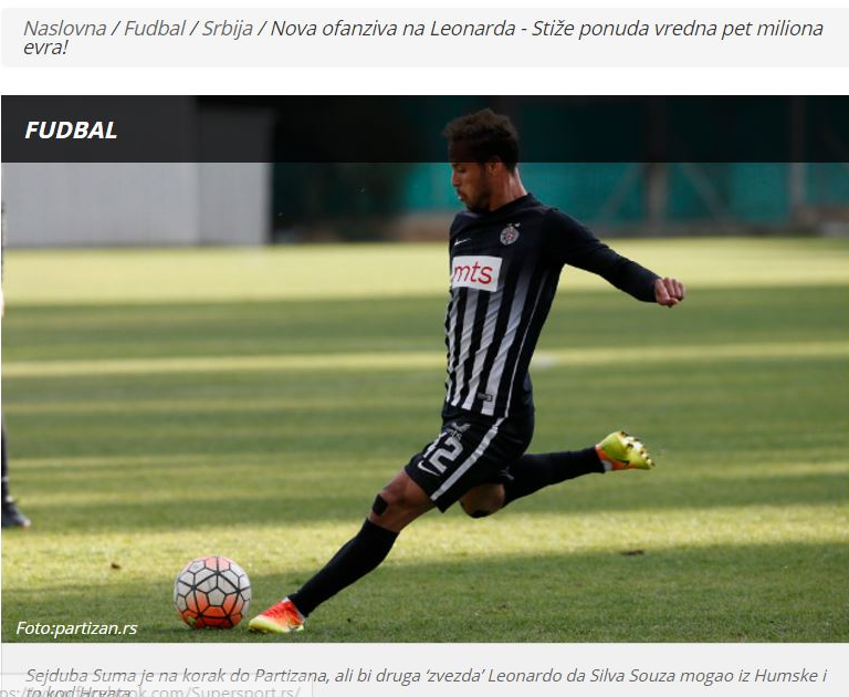 تقارير روسية.. مفاوضات متقدمة بين الأهلي والبرازيلي ليوناردو