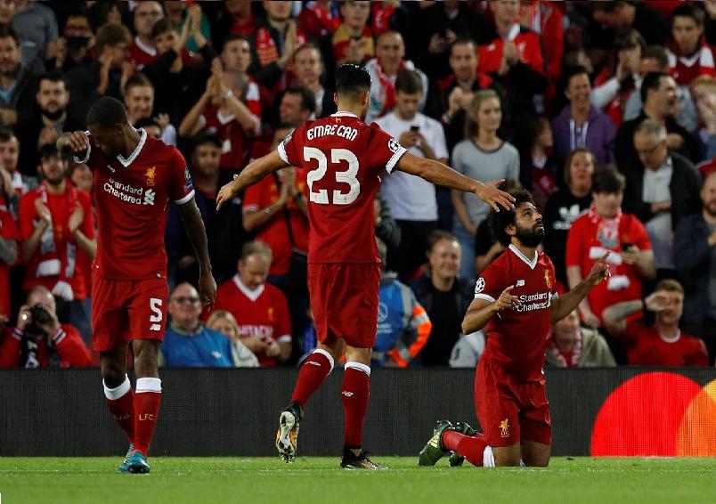 بالفيديو.. ثلاثة أهداف سريعة في الشوط الأول تضع ليفربول في دور المجموعات لدوري الأبطال