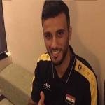 عمر السومة يشارك في تعادل سوريا والعراق وديًا