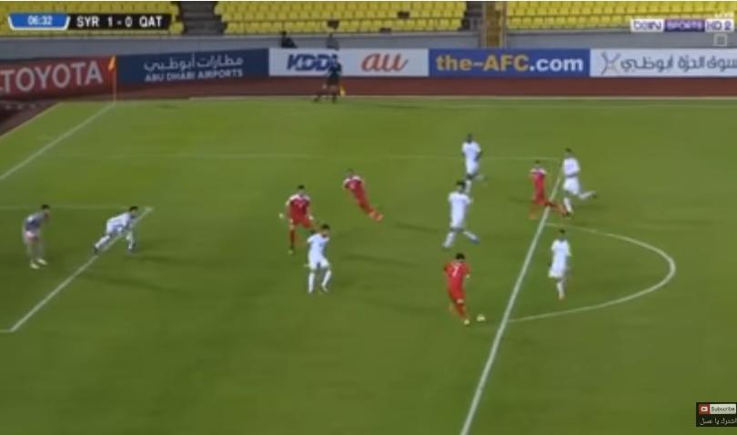 بالفيديو.. خريبين يحافظ على حظوظ سوريا في التأهل إلى بطولة كأس العالم بعد الفوز على قطر