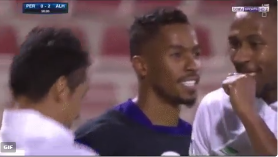 بالفيديو.. شاهد السامبا السعودية البرازيلية احتفالا بالهدف الثاني للأهلي