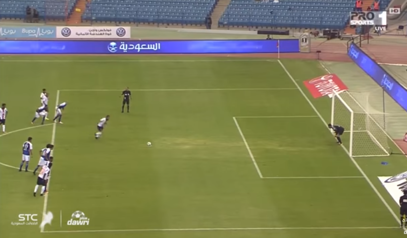بالفيديو.. هدف الفيحاء الأول ضد الهلال فى الجولة الاولى من دوري جميل