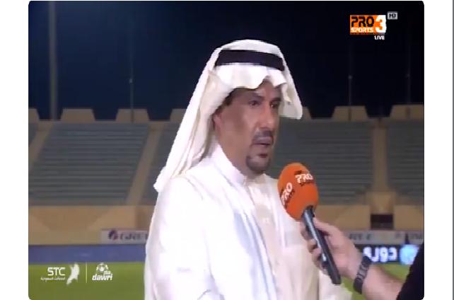 """بالفيديو.. عبدالعزيز التويجري: """"ما يحدث لا يليق بدوري محترفين، الجو حار وغرف تبديل الملابس بلا مكيفات! الدوري بدأ مبكراً"""""""
