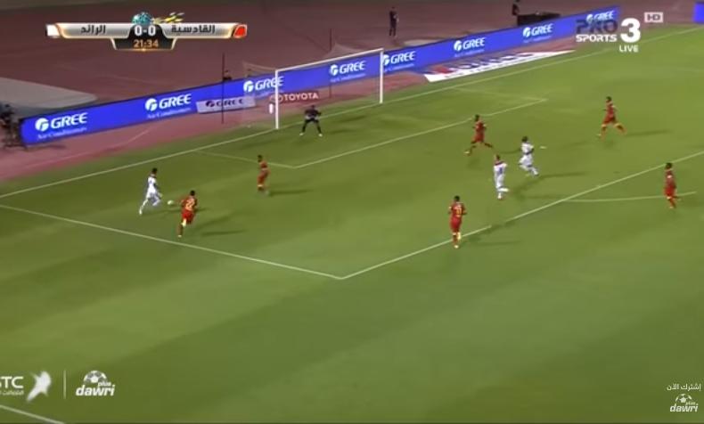 بالفيديو.. القادسية يحول تأخره أمام الرائد لفوز في الدقائق الأخيرة