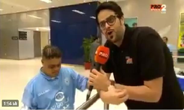 """بالفيديو.. مشجع الاتحاد"""" تركي"""" ينهي صداقته مع كهربا و يكشف عن سر الخلاف"""