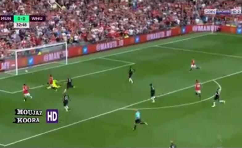 بالفيديو.. مانشستر يونايتد يقسو على وست هام برباعية