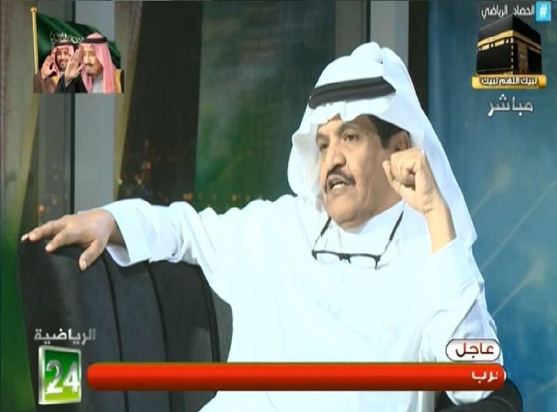 """بالفيديو .. عدنان جستنيه: سبب إستمرار """"ياسر القحطاني"""" في نادي الهلال عضو شرف كبير"""