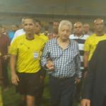 بالفيديو..مرتضى منصور يفسر أسباب نزوله الملعب لحماية حكم لقاء الزمالك والمصري