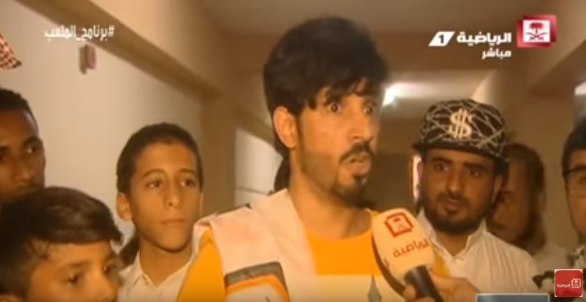 بالفيديو..الجماهير الشبابية تبدي عدم رضاها عن سامي الجابر رغم الفوز برباعية على القادسية