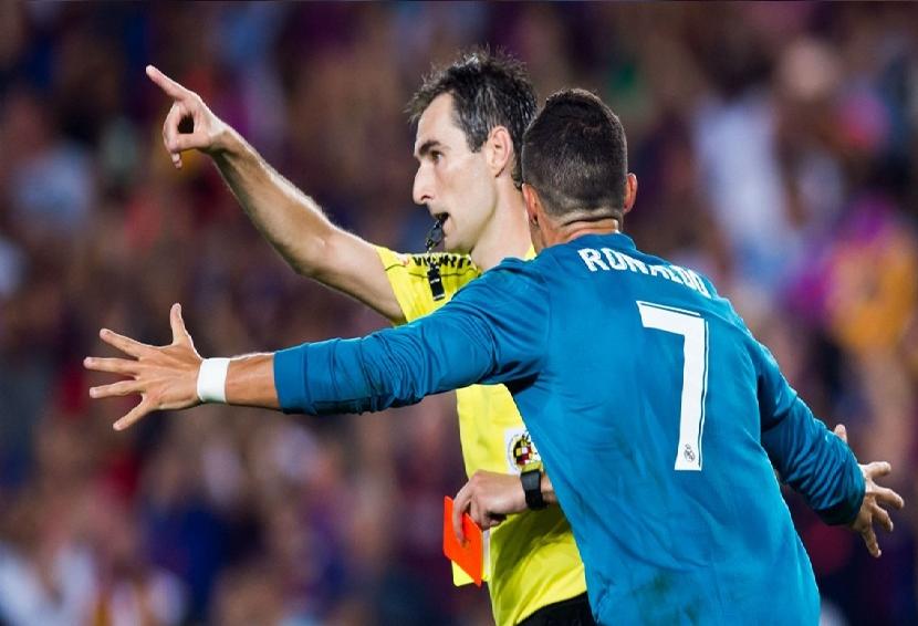 """محكمة """"التحكيم الرياضي"""" في إسبانيا ترفض طعن ريال مدريد ضد إيقاف رونالدو"""
