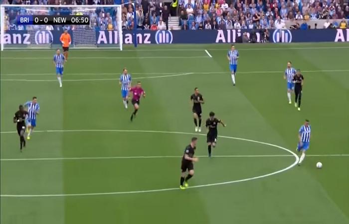 بالفيديو ..هدف برايتون اند هوف البيون ( 1 – 0 ) نيوكاسل يونايتد الدوري الانجليزي الممتاز