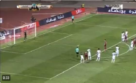 بالفيديو .. هدف الفيصلي الأول في مرمى الاتحاد عن طريق لويز جوستافو د49 من ضربة جزاء