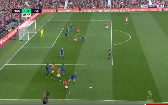 بالفيديو.. أهداف مباراة مانشستر يونايتد (4-0) إيفرتون في الدوري الإنجليزي