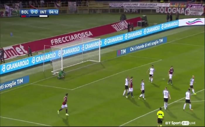 فيديو ..أهداف مباراة بولونيا (1-1) انتر ميلانو في الدوري الإيطالي