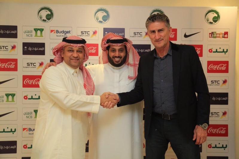 بالصور.. الاتحاد السعودي يعلن التوقيع رسميًا مع باوزا لقيادة الأخضر في مونديال2018