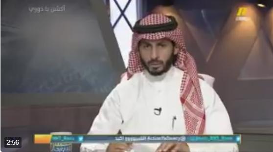 بالفيديو..فهد بارباع: سامي الجابر قيادي وطموح ومثقف ..  ولكن