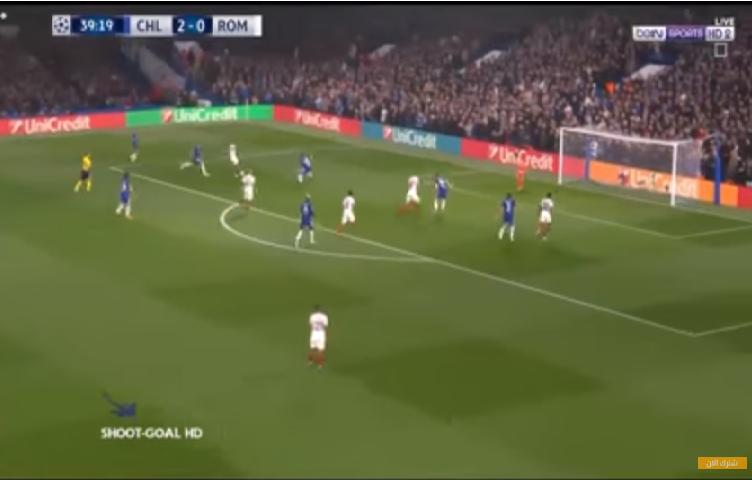 بالفيديو.. تشيلسي يتعادل مع روما في مباراة ماراثونية
