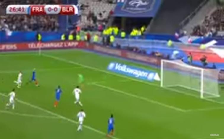 بالفيديو…أهداف مباراة فرنسا وبيلاروسيا (2-1)