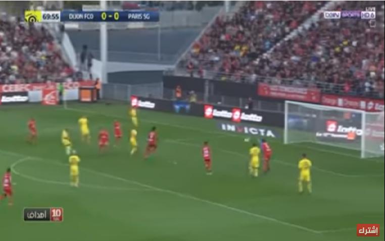 بالفيديو.. سان جيرمان يحقق فوزاً صعباً على ديجون في الدوري الفرنسي