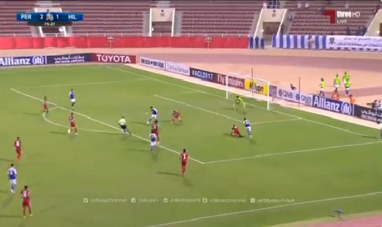 بالفيديو : خربين يتألق ويحرز هدف التعادل للهلال .. بيرسبوليس 2 – 2 الهلال