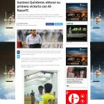 صحافة الأكوادور تصف جماهير النصر بهذا الوصف