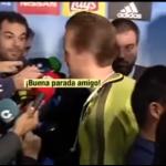 بالفيديو..ماذا قال هاري كين لكيلور نافاس بعد مباراة ريال مدريد وتوتنهام؟