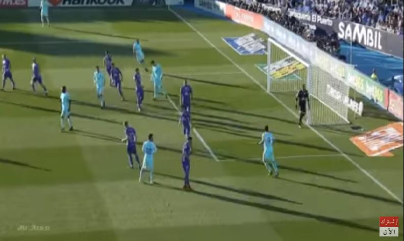 بالفيديو.. ثنائية سواريز تقود برشلونة للفوز على ليغانيس في الدوري الاسباني