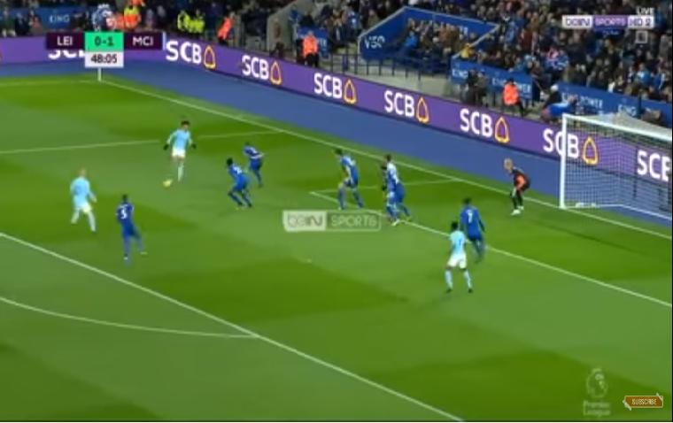 بالفيديو… أهداف مباراة مانشستر سيتي وليستر سيتي في الدوري الإنجليزي 2-0