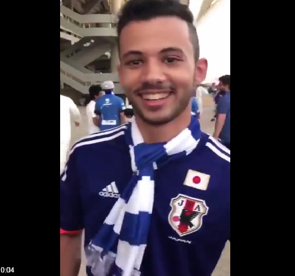 بالفيديو.. مشجع هلالي يثير الجدل  أثناء مباراة ذهاب نهائي آسيا !