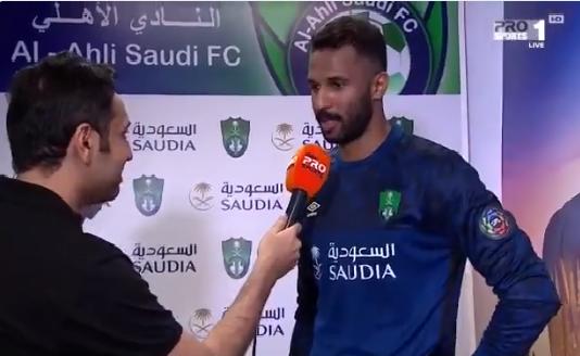 بالفيديو.. أول تعليق من محمد العويس بعد الصلح بين الأهلي والشباب!