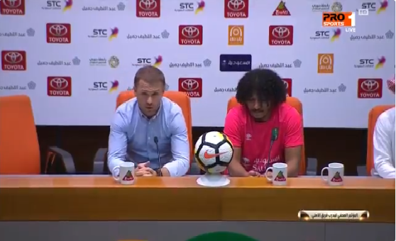 """بالفيديو.. هكذا علق مدرب الأهلي """"ريبروف"""" بعد فوز فريقه بثلاثية على القادسية!"""